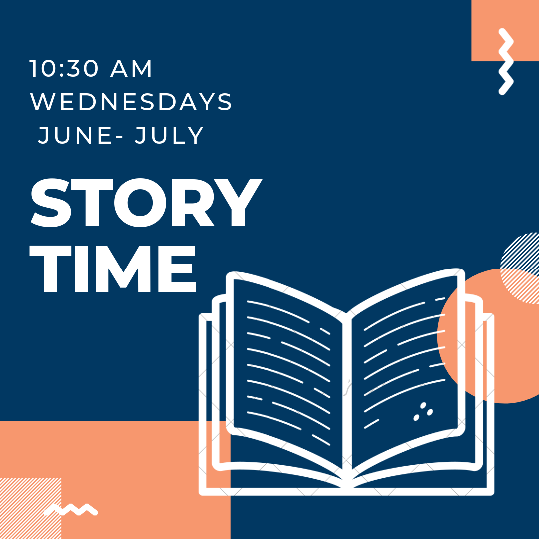 We'll have themed Summer Story Times all throughout June and July. Story Time is geared toward pre-schoolers. No need to register.